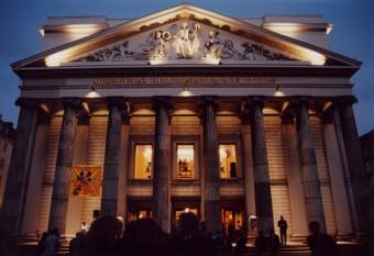 Theater am Abend, Foto: Stadt Aachen